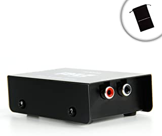 ProAMP Mini Phono Preamp for Stereo Receivers / Connect Your Stereo Receiver to Turntables , Microphones , or other Audio Devices - Works with Sony STR-DN1040 / STR-DH130 , Yamaha RX-V373 / RX-V377 , Denon AVR-E300 , Onkyo TX-8020 / TX-8050 , Harman Kardon AVR 1700 , and Many More Receivers!