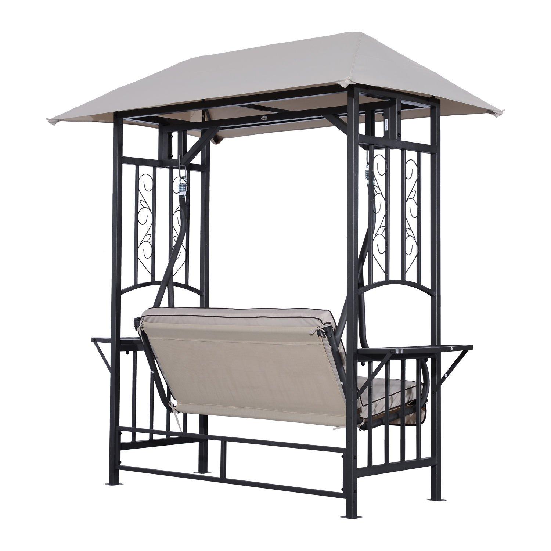Generic o-8-o-4186-o eseat W 2 persona mmock L Patio jardín 2 Perso al aire libre Porche Swing atio ga hamaca Loveseat W/Canopy G silla silla asiento NV _ 1008004186-tyqfus32: Amazon.es: Jardín