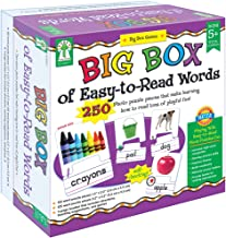 big box of easy to read words