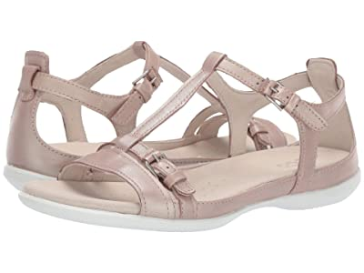 ECCO Flash Buckle Sandal (Champagne) Women