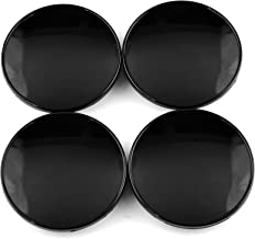 70mm(2.76in)/54mm(2.13in) Black Car Wheel Center Hub Caps Set of 4 for 2000-2011 Ford Focus #2M51-1000-AA #2M5Z-1130-AB #3367#3438#3530#3704#3972