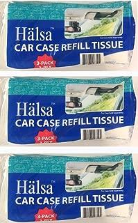 Tempo Auto Visor Tissue Refills- 3 Bags (Total of 9 Refills)