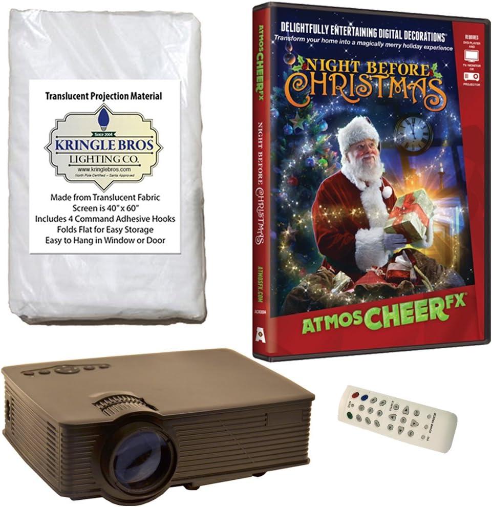 Christmas Digital Decoration Superlatite Kit 1900 Includes Lumen Projector Max 84% OFF