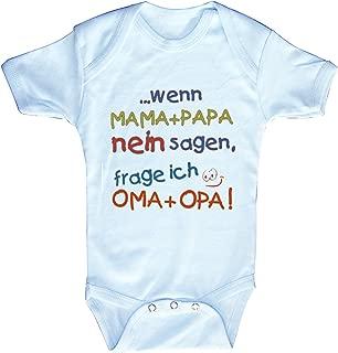 0-24 Monate Fan-O-Menal Textilien Strampler mit Spruch Wenn ich gro/ß Bin werde ich Trecker-Fahrer 08310 wei/ß Gr