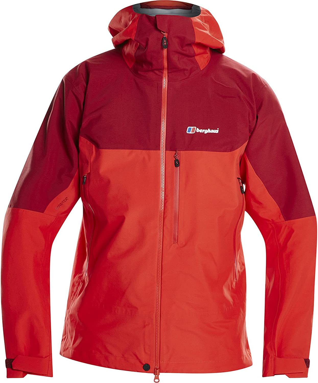Berghaus Extrem 5000 Jacket Medium Red Dahlia Volcano