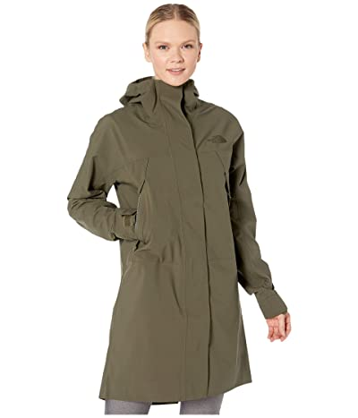The North Face City Futurelight Parka (New Taupe Green) Women