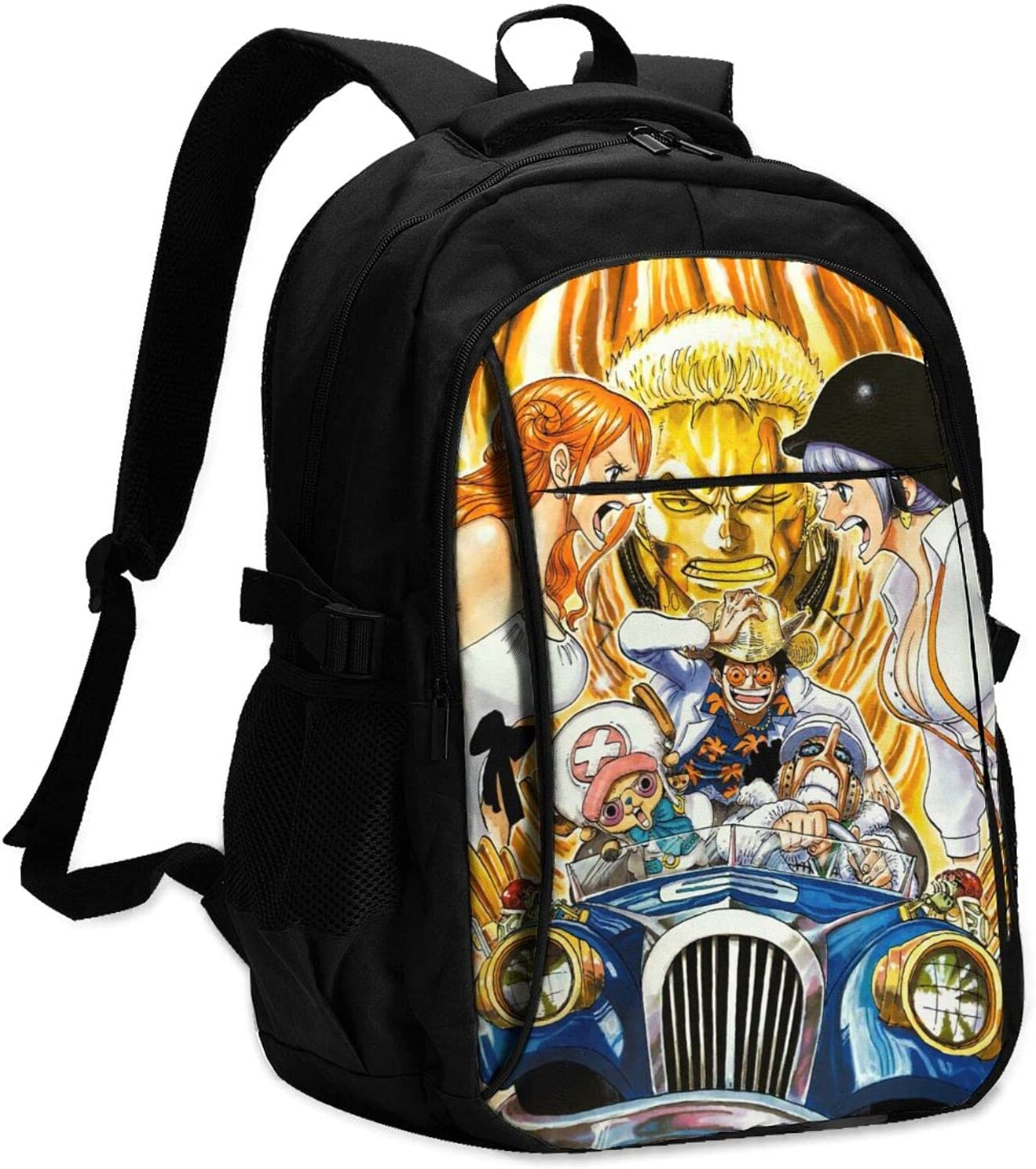 One Piece Gold Overseas parallel import regular item Cartoon Travel Backpac Backpack Business Over item handling With Usb