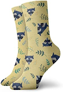 Black Fox Head Adult Short Socks Calcetines clásicos para Hombres Mujeres Yoga Senderismo Ciclismo Running Soccer Sports