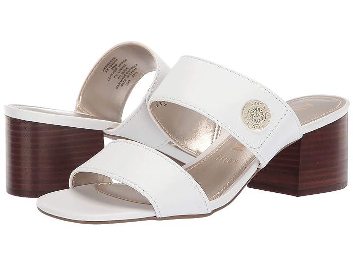 Anne Klein  Breeze (White) Womens Sandals