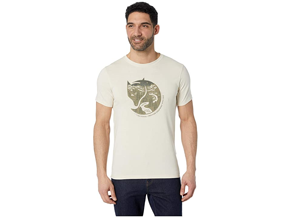 Fjallraven Arctic Fox T-Shirt (Chalk White) Men
