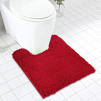 Cincinnati Bengals 3PCS Non-Slip Bathroom Bath Mat Toilet Cover Contour Rug Mat