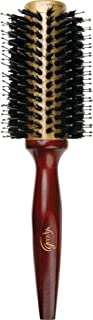 Goody Styling Essentials Smooth Blends Boar Ceramic Hot Round Hair Brush, 33 mm