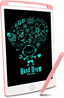 Richgv® Tableta de Escritura LCD de 10 Pulgadas Tablero Negro Inteligente Juguetes de Aprendizaje Tablero de Dibujo Electr...