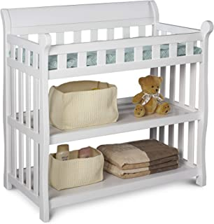 Best Delta Children Eclipse Changing Table with Changing Pad, White Review