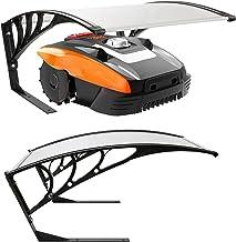 Arebos robot grasmaaier garage | afmeting 102 x 79 x 46 cm | weerbestendig + UV bescherming | met metalen poten | grasmaai...