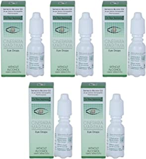 Cineraria Maritima Eye Drops Without Alcohol 10ml (Pack of 5)