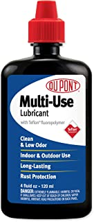 DuPont Teflon Multi-Use Lubricant Squeeze Bottle, 4 Oz