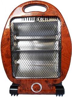 Calentador de cuarzo Calentador infrarrojo halógeno 400 800W - Aspect Loupe d'Ormes