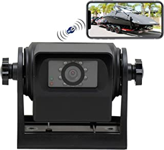 $135 » Sponsored Ad - DUNTUO RV Wireless WiFi Hitch Backup Camera Magnetic Powered Battery Night Vision for RVs,Horsebox,Towing,B...