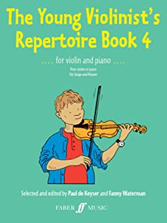 The Young Violinist's Repertoire Book 4