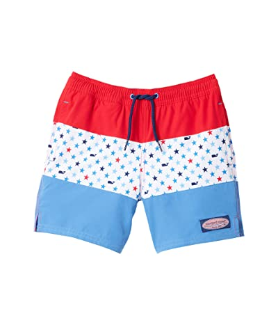 Vineyard Vines Kids Pieced Chappy Trunks (Toddler/Little Kids/Big Kids) (Lighthouse Red) Boy