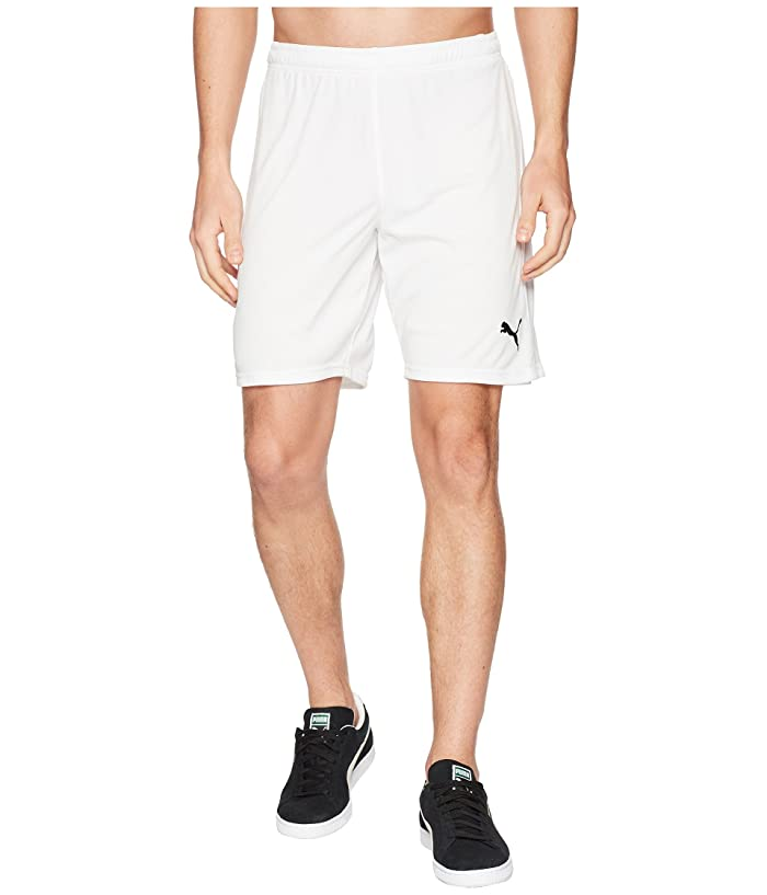 PUMA Liga Shorts (Puma White/Puma White) Men