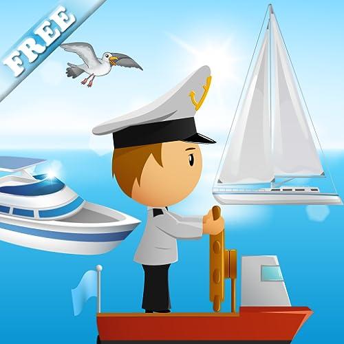 Barcos e navios para crianças e miúdos : brincar com os veículos de mar ! jogos para crianças - Jogos educativos GRATUITO