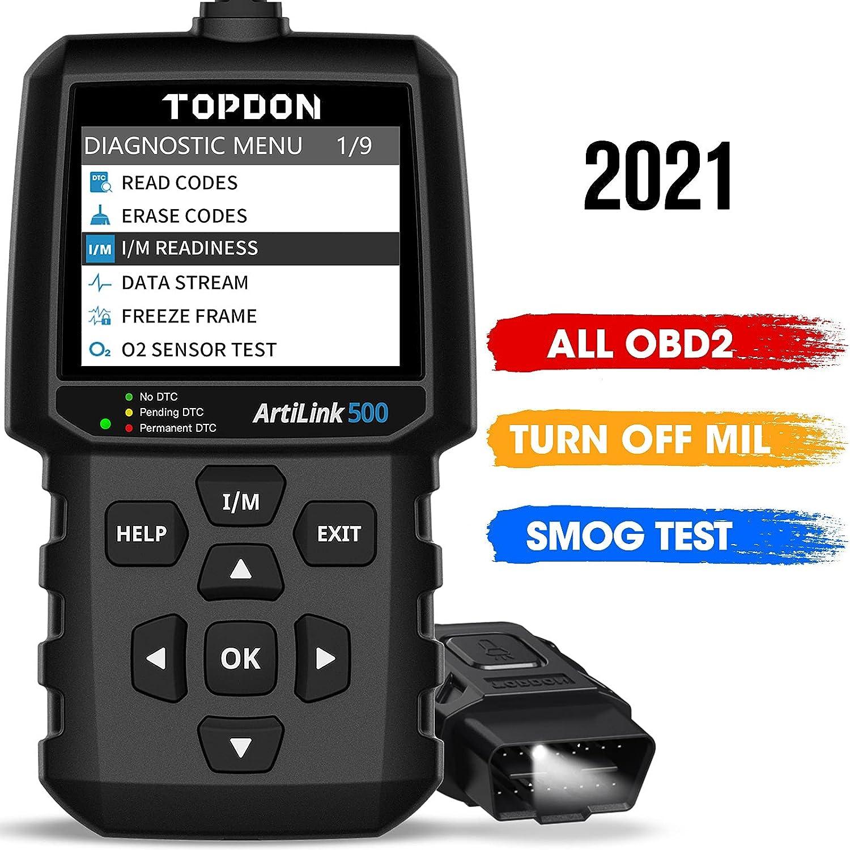 Topdon OBD2 AL500  Scanner Code Reader $24.99 Coupon