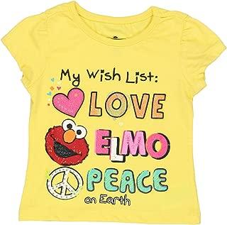 Elmo Girls Short Sleeve Tee (Baby/Toddler)