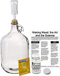 Shepherd Made Mead Making Kit (Mead-Kit), Multicolored