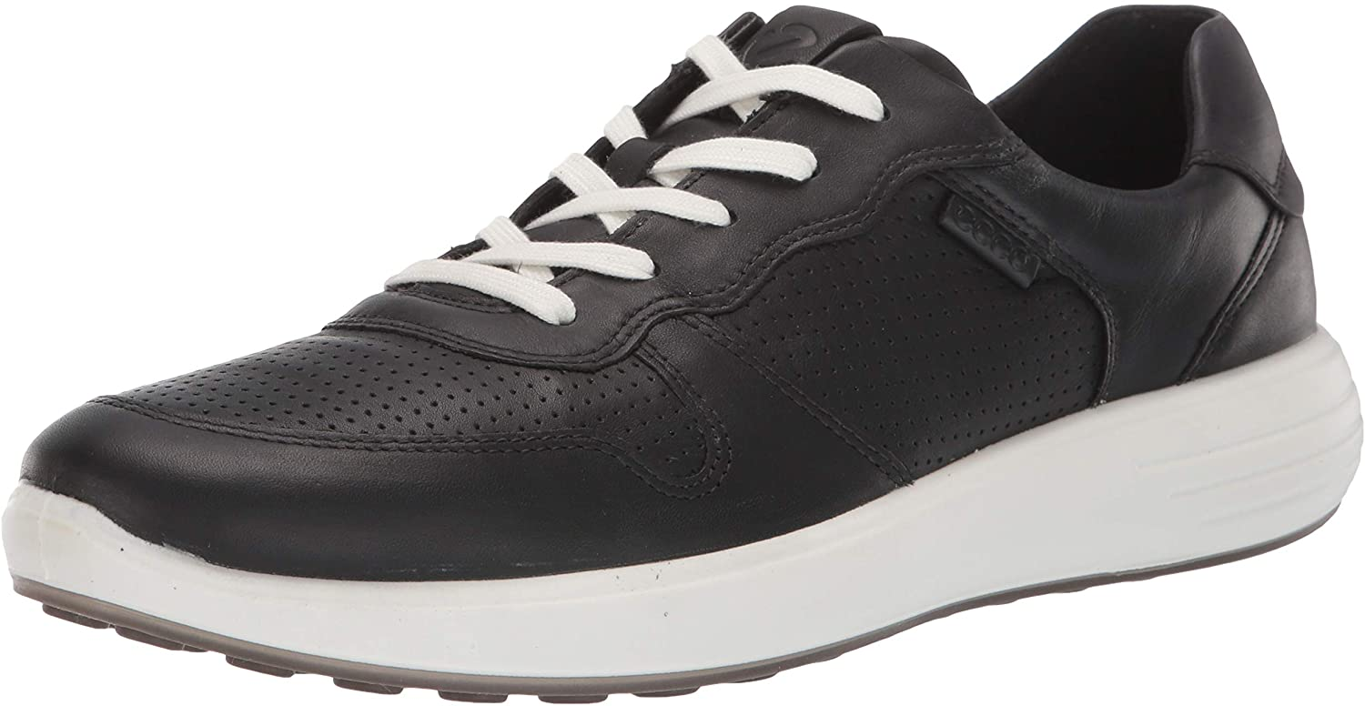ECCO Men's Soft New popularity Large-scale sale 7 Sneaker Perforated Runner