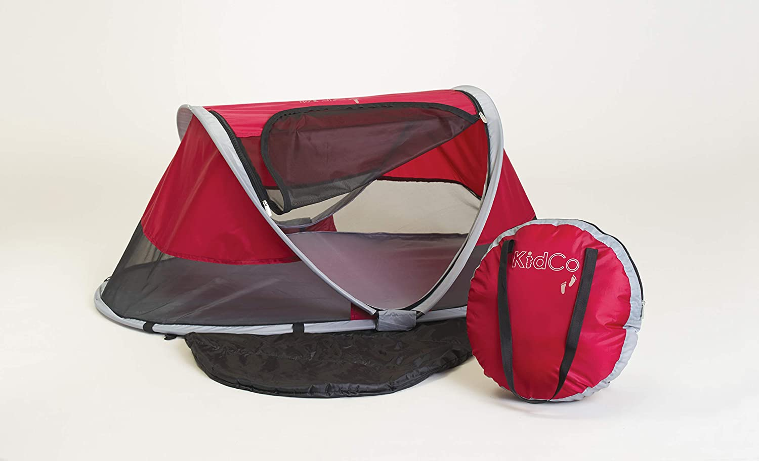KidCo sale P3010 Peapod Portable unisex Indoor Travel Outdoor Bed Cranberry