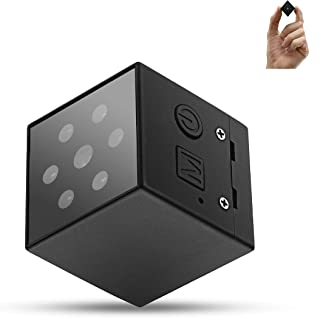 Pikooo Mini Spy Camera Hidden Nanny Camera with Night Vision and Motion Detection - Wireless for Indoor Outdoor Use - 1080p HD Recording - No WiFi Required - Hidden Security for Home or Business