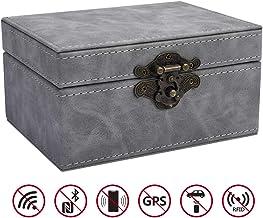 $24 » CigaMaTe Faraday Box Vintage Faraday Key Fob Protector Cage RFID Signal Blocking Box Privacy Protection