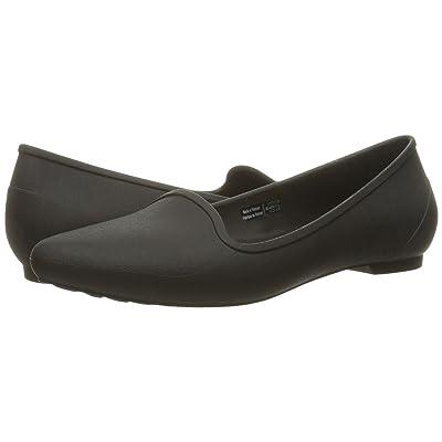 Crocs Eve Flat (Black) Women