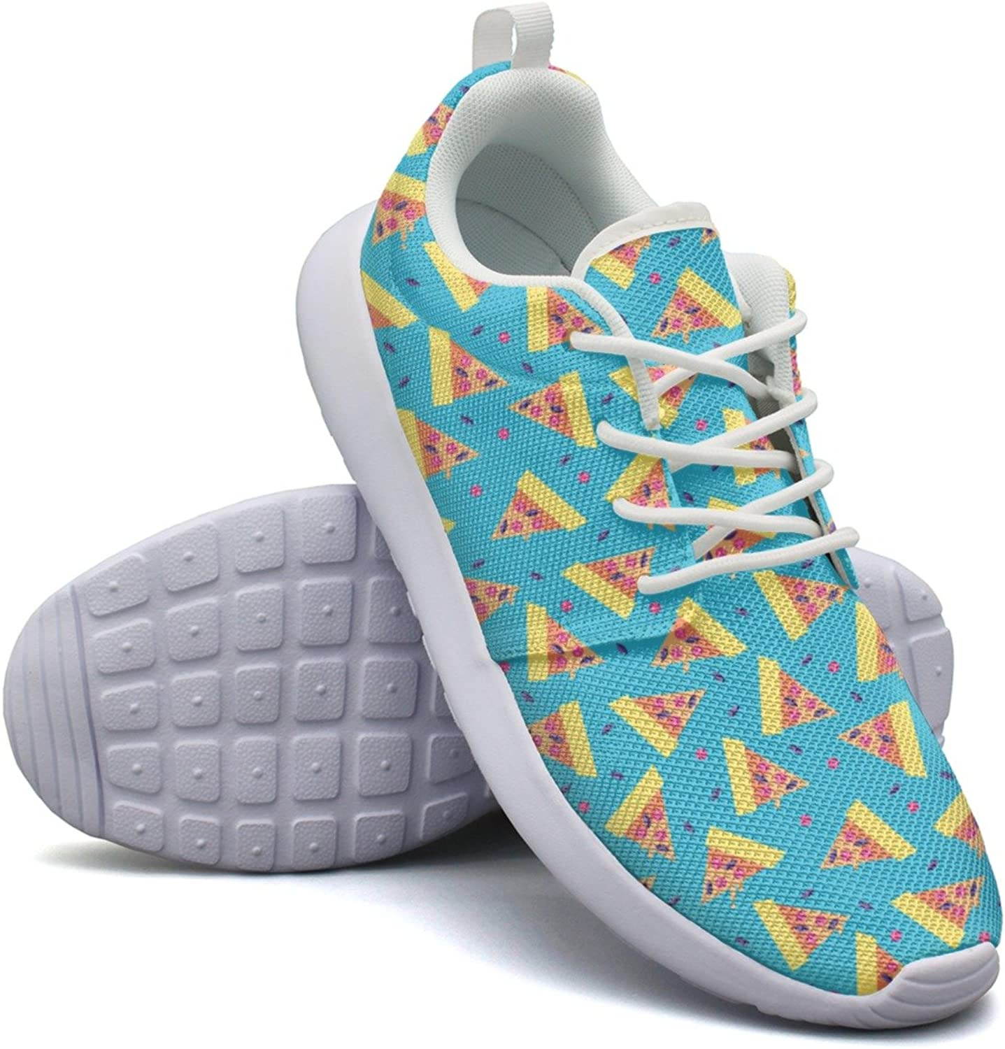 Cool Pizza Boxes Women's Navy Fashion Running shoes