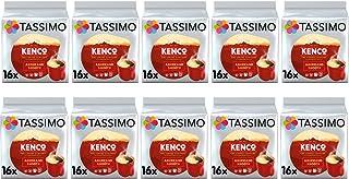 Tassimo Kenco Americano Smooth Cápsulas de café- 10 paquetes (160 bebidas)