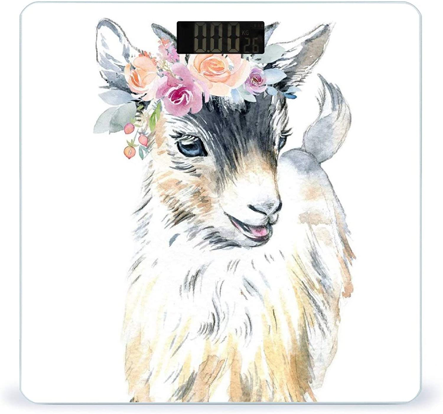 CHUFZSD Floral Max 41% OFF Goat Highly Accurate discount Weight Scale D Smart Fitness