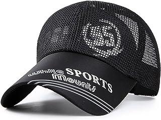 baby-mine (ベイビーマイン) メッシュ キャップ ロゴ カジュアル つば長 野球帽 帽子 アウトドア 釣り ゴルフ 通気性 メンズ