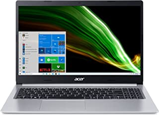 "Acer Portátil Delgado Aspire 5 A515-45-R1YC | IPS Full HD de 15,6"" | Procesador móvil AMD Ryzen 5 5500U Hexa-Core | 8GB DD..."