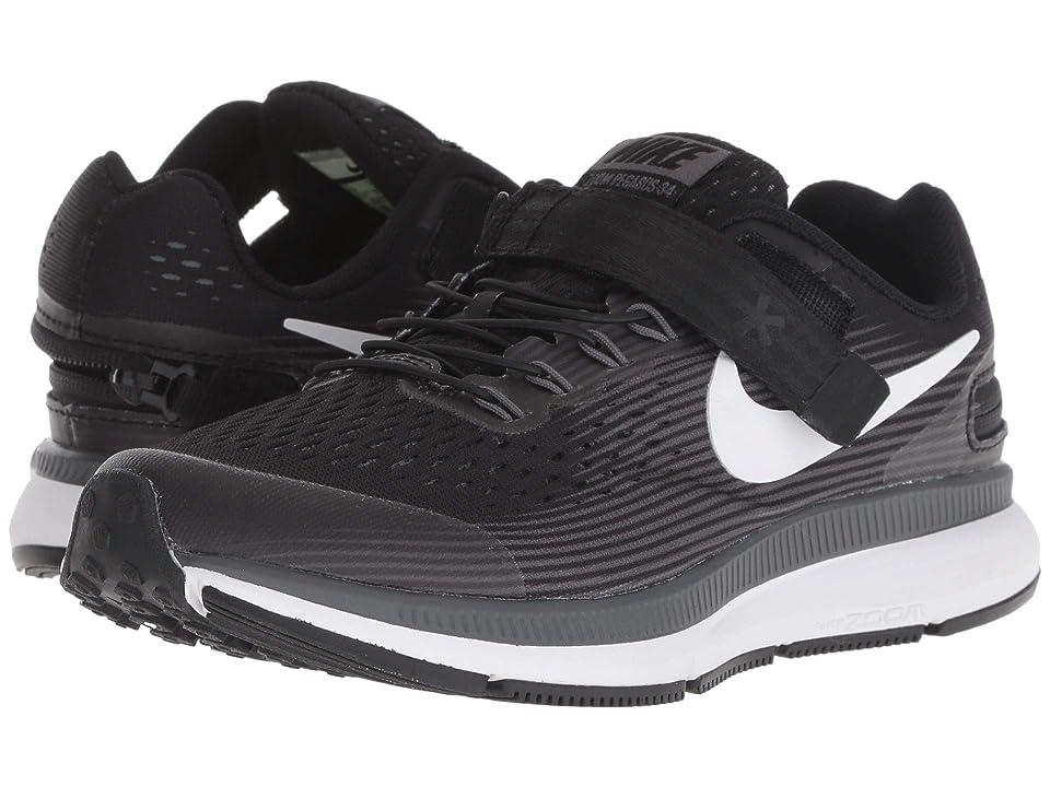 Nike Kids - Nike Kids Zoom Pegasus 34 FlyEase WIDE , Black