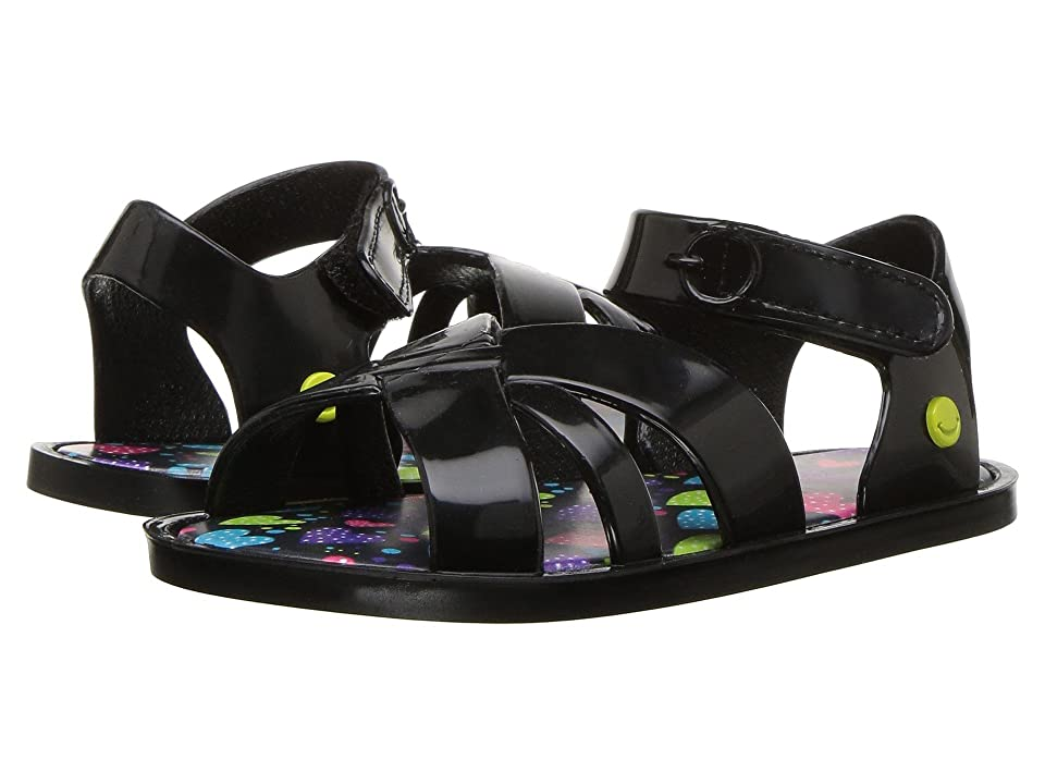Western Chief Kids Sandbox Sandal (Toddler/Little Kid) (Black) Girls Shoes