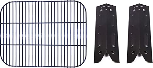 BBQration Repair Kit Parts Gas Grill Cooking Grid and Heat Plates Replacement for Brinkmann 810-4220-S