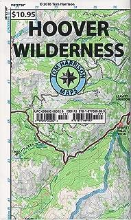 Hoover Wilderness Region Trail Map (Tom Harrison Maps)