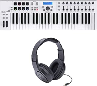 Arturia Keylab Essential 49 Bundle with Samson SR350 Headphones (2 Items)