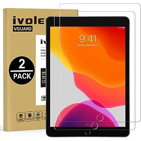 OMOTON 2 Pezzi Pellicola Protettiva per iPad 10.2 2019,Vetro Temperato Compatibile con iPad 10.5 Air 3,Senza Bolle-Facile Installazione
