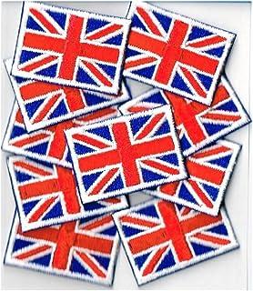 イギリス国旗ワッペン ミニ SSS10枚セット