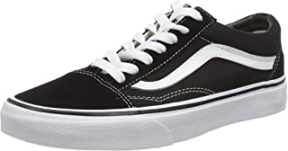 Vans Unisex Old Skool Black/White Skate Shoe