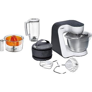 Bosch MUM5 Start Line universal 800W 3.9L Naranja, Plata, Transparente, Color blanco - Robot de cocina (3,9 L, Naranja, Plata, Transparente, Blanco, Botones, 1,25 L, 1,5 L, Acero inoxidable)