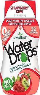SweetLeaf Water Drops, Strawberry Kiwi, 2.1 Fl Oz (Pack of 1)